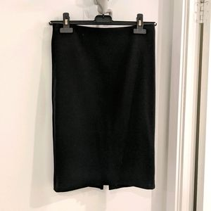 Costa Blanca Black fitted pencil skirt xs